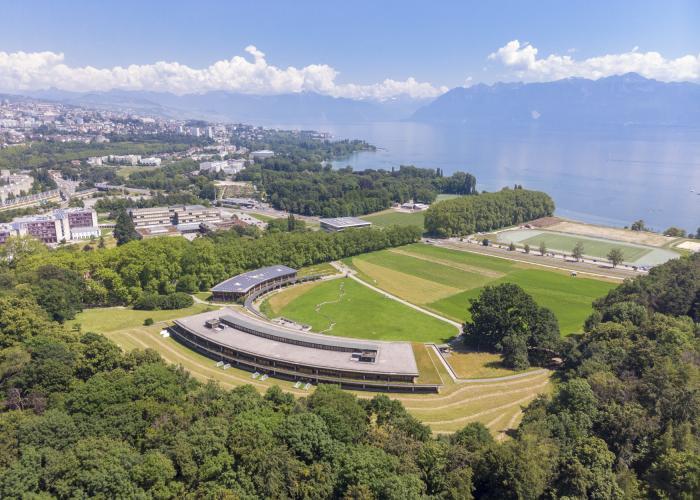 Università di Losanna dall'alto