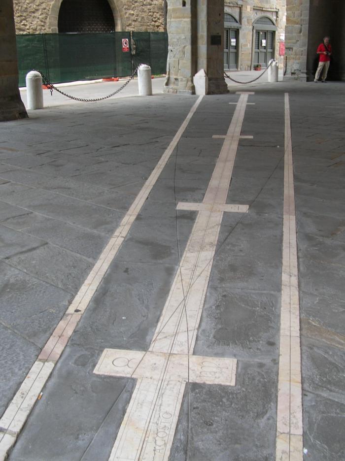 Meridiana di Piazza Vecchia
